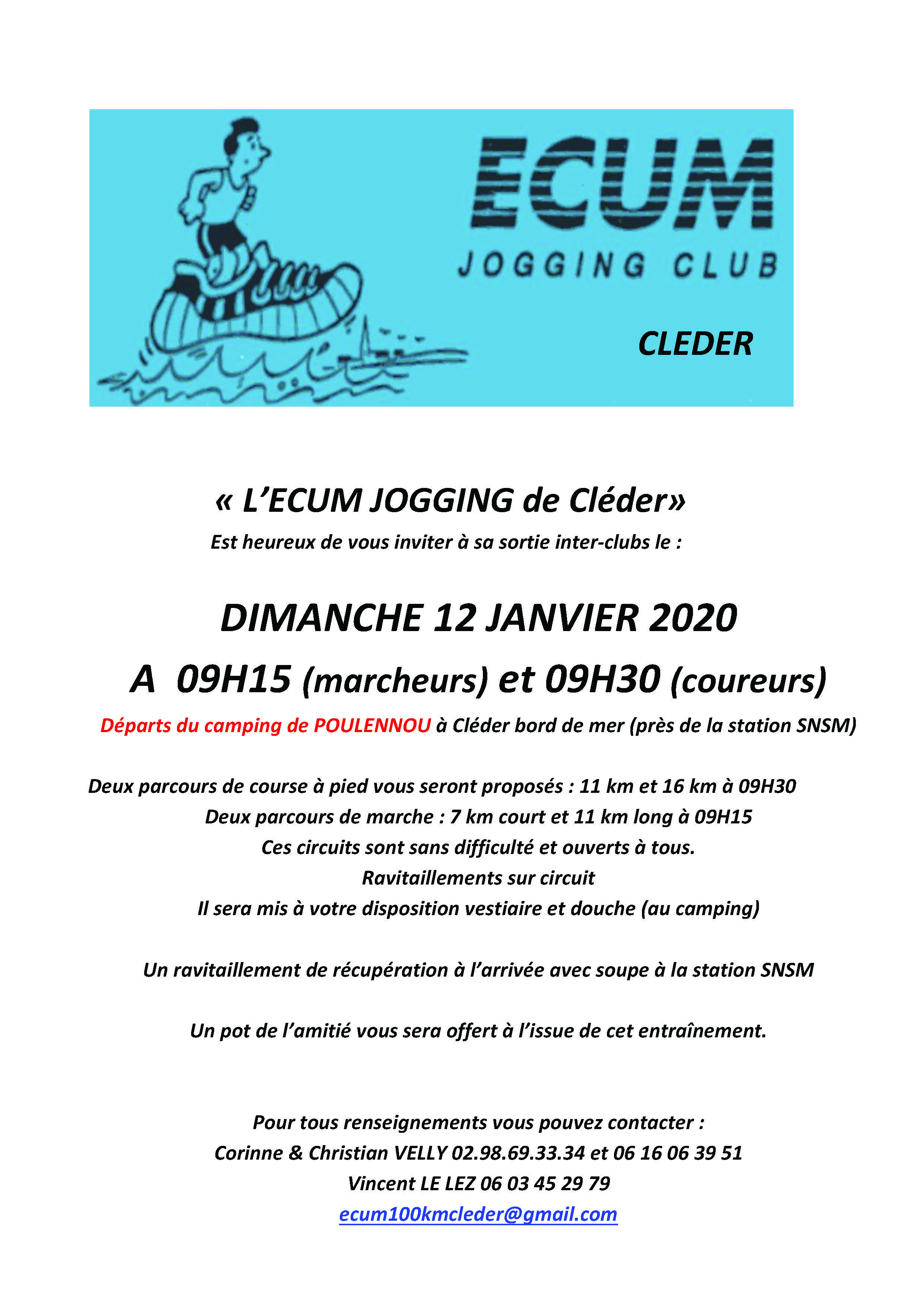 CLEDER INTERCLUBS 2020